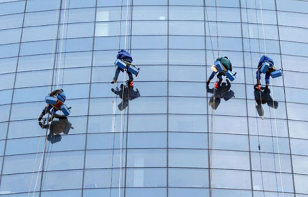 Our Team Of Trained and Keeps You Secure Window Cleaners