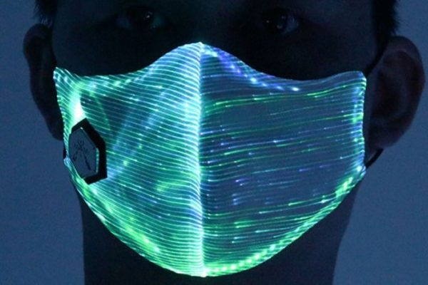 Cleansers, Fiber-optics Lines And Masks. Re-thinking School